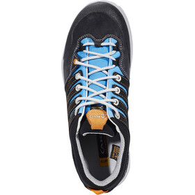 AKU Montera Low GTX Shoes Women dark grey/light blue